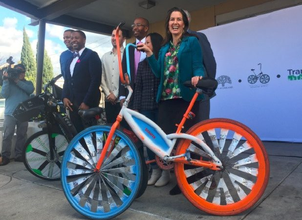 Lyft donates $700k to bring bikes, free rides to East Oakland residents