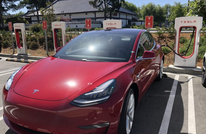 Tesla touts energy savings in company's first sustainability report