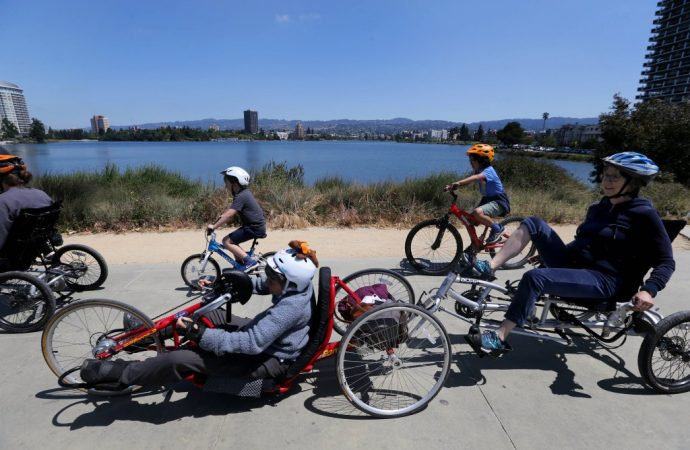 The shared bike and scooter industry often leaves out people with disabilities — but Oakland is changing that