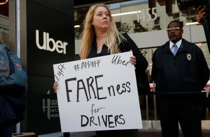 Defiance in California after NLRB decision about Uber drivers' contractor status