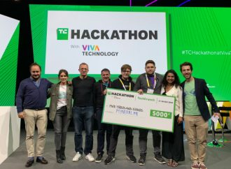 Myneral.me wins the TechCrunch Hackathon at VivaTech