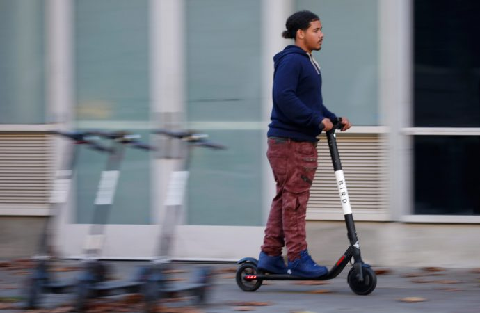 Scooter firm shuts off poor areas of S.F., despite promise: report