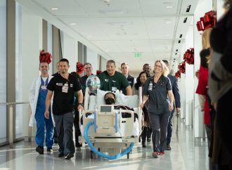 Excitement abounds as new Stanford Hospital welcomes first patients