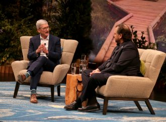 Tim Cook, Marc Benioff talk values at Dreamforce
