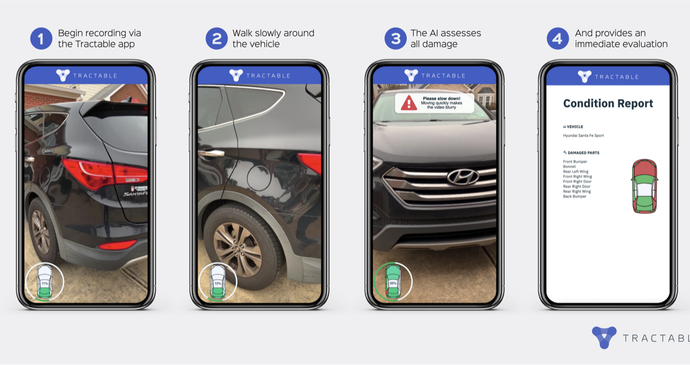Tractable raises $60M at a $1B valuation to make damage appraisals using AI